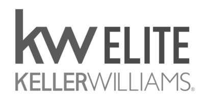 Keller Williams Elite Transparent Logo Gray