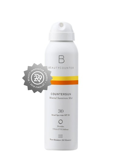 beautycounter- mineral sunscreen mist