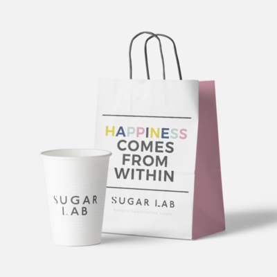 Sugar Lab packaging