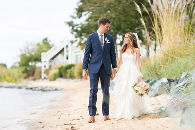 Chesapeake Bay Beach Club wedding photographer