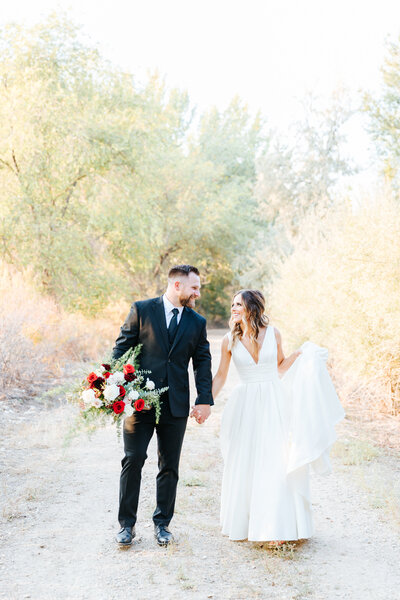 Fall Deer Flat Ranch Wedding in Nampa, Idaho