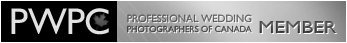 Professional Wedding Photographers of Canada Badge