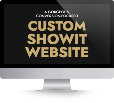 Custom ShowIt Website Designer Kyle Goldie