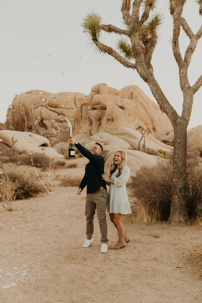 Brooke and Jesse Joshua Tree engagement photos- Maya Lora Photo-256