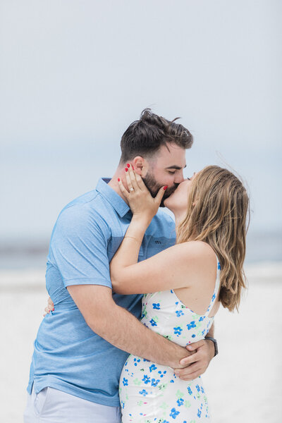 You are only engaged once and the California coast is the perfect location.