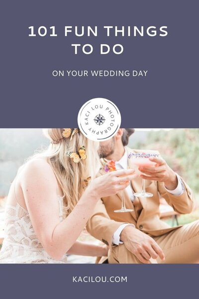 List of fun things to make your wedding day more meaningful and memorable