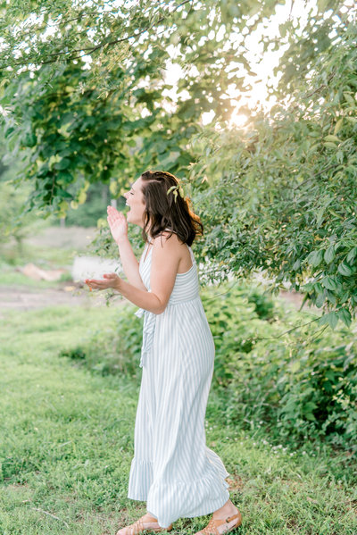 Laughing Wedding Photographer from New York