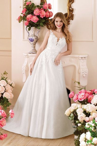 Justin Alexander Wedding Dress 4