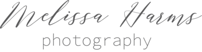 Logo for Melissa Harms Photography