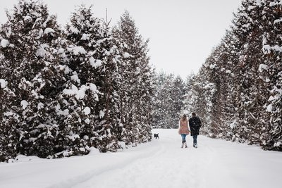 Georgina & Steve Snowy Winter Engagmenet Session Blog | Dylan Martin Photography -18 copy