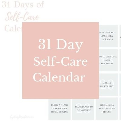 31 Day Self-Care Calendar
