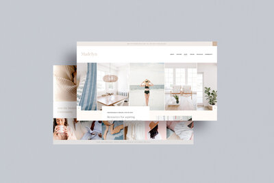 Madelyn - Shop Template for Showit by With Grace and Gold - Best Showit Design, Designs, Designer, Designer, Theme, Themes