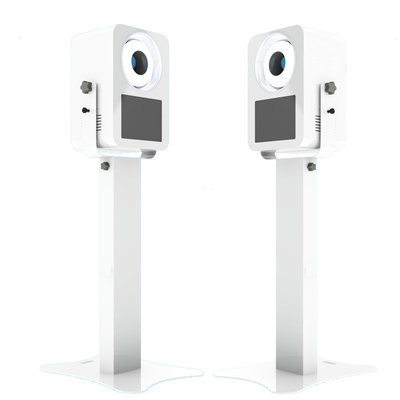 Modern photo booth white