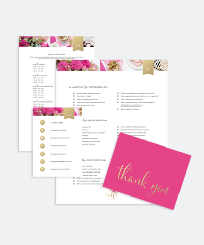 Welcome Packet Template_Megan Martin Creative