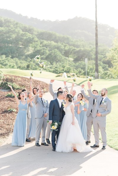 Romantic Wedgewood Eagle Ridge Wedding Gilroy CA-9