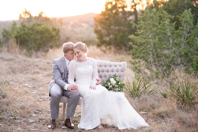 terrace club wedding photographer austin bride groom sunset natural light texas