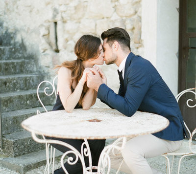 greece beach elopement