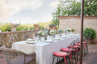 La Dolce Vita Retreat Tuscany Italy Farewell Dinner