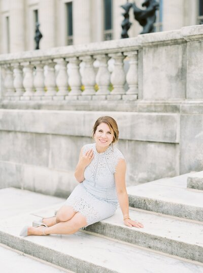 Chicago Film Wedding at Chicago History Museum with Sarah Sunstrom Photography