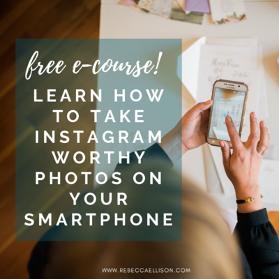 Free course on how to take instagram worthy photos on smartphone