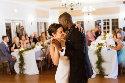 bride groom first dance catskills wedding planner carey institute wedding canvas weddings