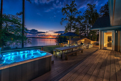 lake norman hot tub