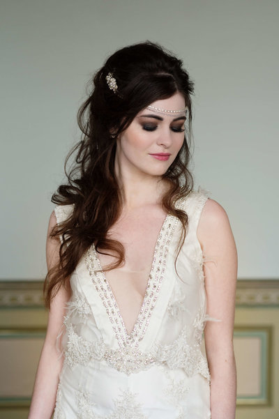 bohemian bridal hair  inspiration