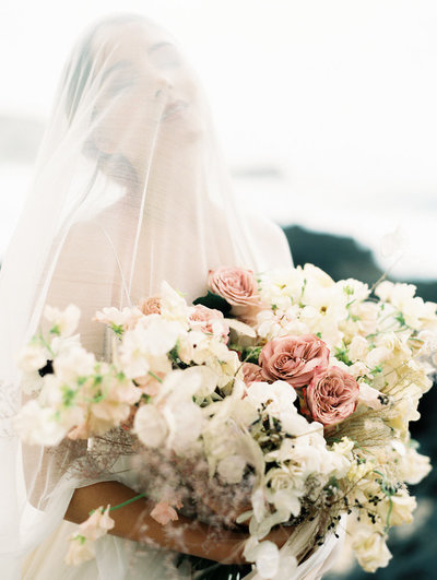 hawaii florist, editorial bridal bouquet