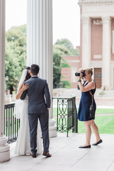 behind the scenes- boston wedding photographer