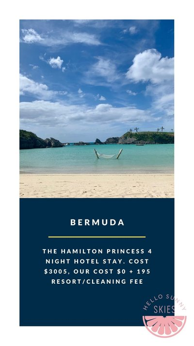 All the details about our affordable family vacation to Bermuda.