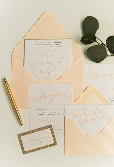 Hello Invite Design Studio - Cincinnati, Ohio Wedding Stationery Designer - Stationery Design, Stationery Designs - Photo - 107