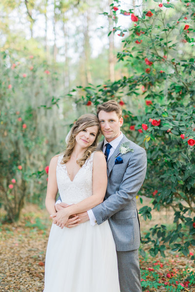 Megan Joe Legare Waring House Spring Wedding Newlywed Portraits