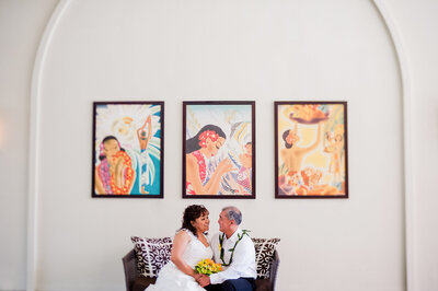 A Hawaiian Destination Wedding, Honolulu, Hawaii