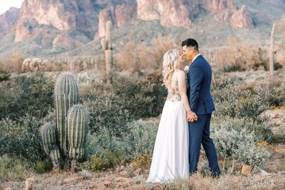 Superstition Mountain Elopement Photography phoenix wedding photographers