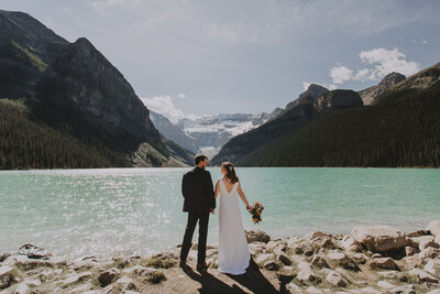 Fairmont Chateau Lake Louise Wedding Photographer-297