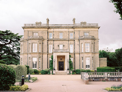 Exterior of Hedsor House wedding venue