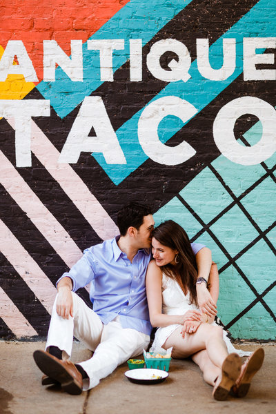 Antique-Taco-Wicker-Park-Engagement-Photographer