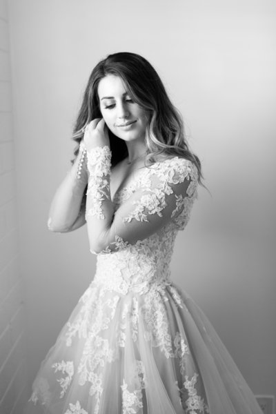 AllisonBridalBW-3