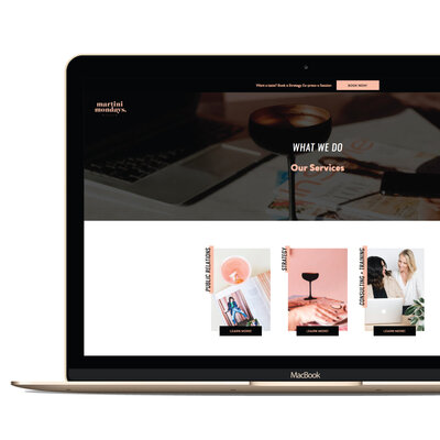 Web Design for creative women