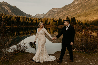 Gold Creek Pond Elopement Courtney Casey-125