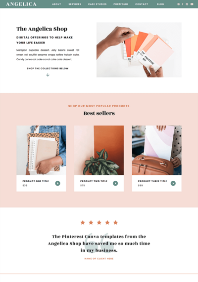 angelica-shop-showit-template