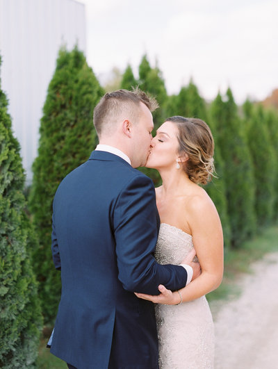 Beautiful Outdoor Wedding at Farmer and Frenchman Kentucky by Sharin Shank Photography