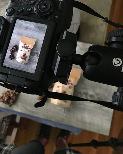 Behind the scenes food photography with Nancy Ingersoll