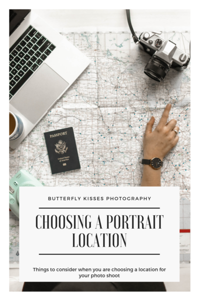 choosing a portrait location