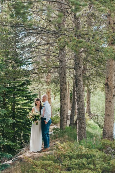 Mountain Intimate Wedding in Breckenridge, Colorado