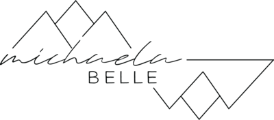 michaela bell logo black