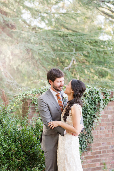 classic savannah bride and groom