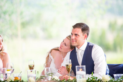 Strawberry-Creek-Ranch-Wedding-Ashley-McKenzie-Photography-Romantic-Mountain-Affair-Navy-Blush-Colorado-bride-and-groom-cuddle