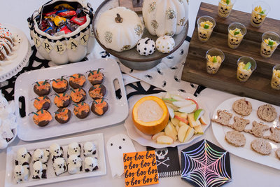 halloween party table top