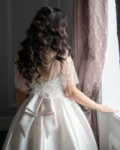 Bride Back dress
